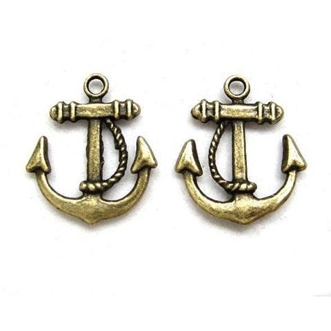 Charms (Bronze) - CH474 Anchor