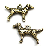 Charms (Bronze) - CH476 Dog