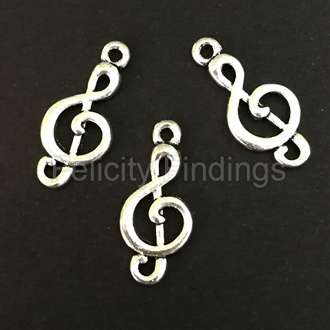 Charms (Antique Silver) -  CH478S Treble Clef