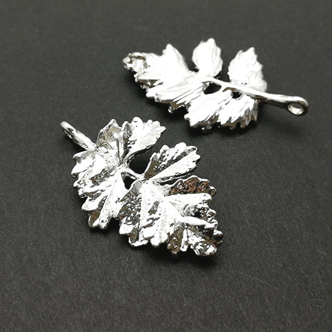 Charms (Silver-plated) -  CH500S Leaf