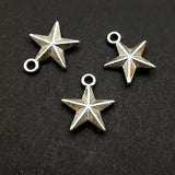 Charms (Antique Silver) - CH523S Star