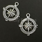 Charms (Antique Silver) -  CH533S Compass