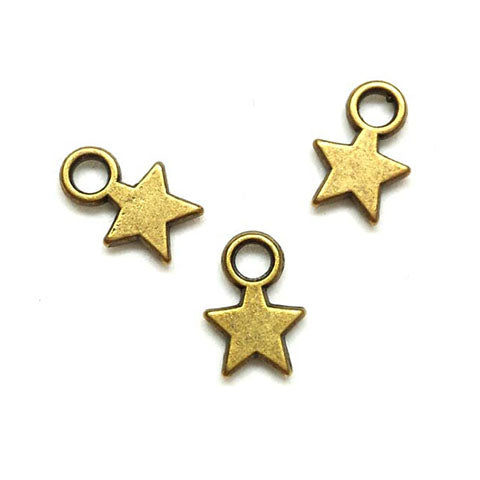 Charms (Bronze) - CH535 Star