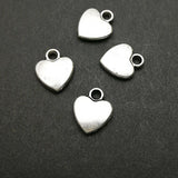 Charms (Antique Silver) -  CH544S heart