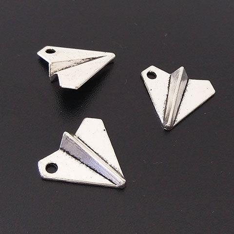 Charms (Antique Silver) - CH550S Origami plane