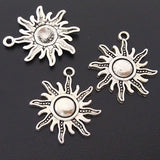 Charms (Antique Silver) - CH570S Sun