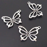 Charms (Antique Silver) - CH571S Butterfly