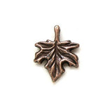 Charms (Antique Red Copper) - CH601RC Maple Leaf
