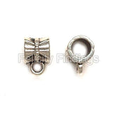 Charm hangers (Antique silver) - CHH05S