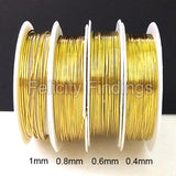 Copper wire (Gold) 0.4mm 0.6mm 0.8mm 1.0mm