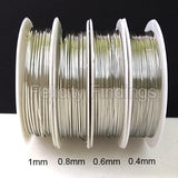 Copper wire (Silver) 0.4mm 0.6mm 0.8mm 1.0mm