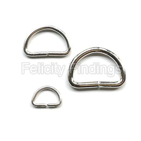 D ring (Nickel color)