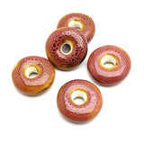 Ceramic Beads (Donut Shaped)