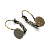 Earring Findings (Bronze) - EH503