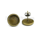 Earring Findings (Bronze) - EH506
