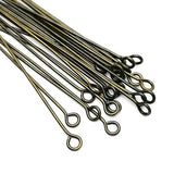 Eye pins (Bronze) - 45mm
