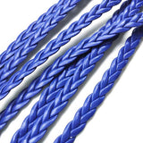 PU cord - Flat (5mm) Blue