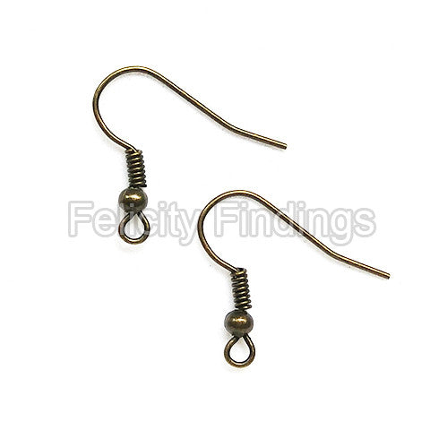 French ear wire (Bronze)
