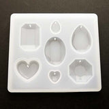 Silicone mold (Gems - Clear finish)