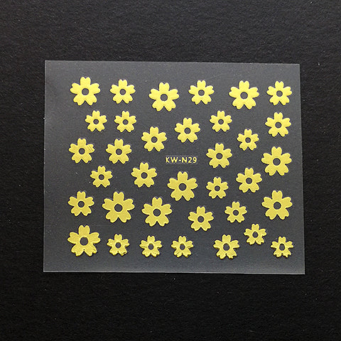 Stickers (Gold flower)