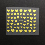 Stickers (Gold heart)