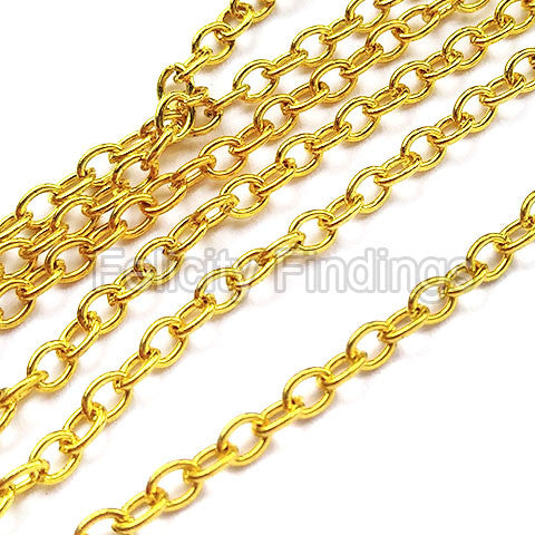 Chains (Gold plated) - 2mm