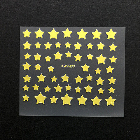 Stickers (Gold star)