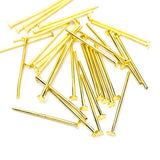 Head pins (Gold plated) - 20mm