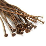 Head pins (Red copper) - 45mm