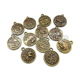 Collection of Zodiac charms