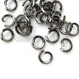 Jump rings (Black) - 4mm