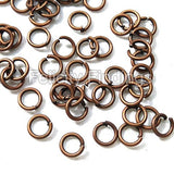 Jump rings (Red copper) - 4mm
