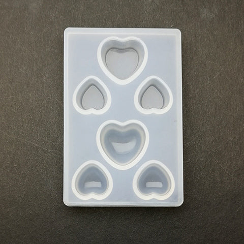 Silicone mini heart mold - Mini I