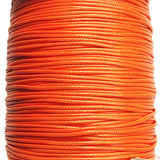 Korean Waxed Cotton Cord - 1.5mm Orange