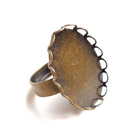 Ring blank - RB-010 (Bronze)