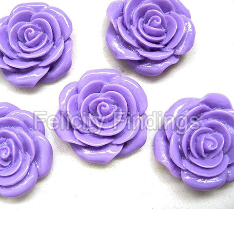 Resin Roses Cabochon