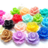 Resin rose (Assorted colors)