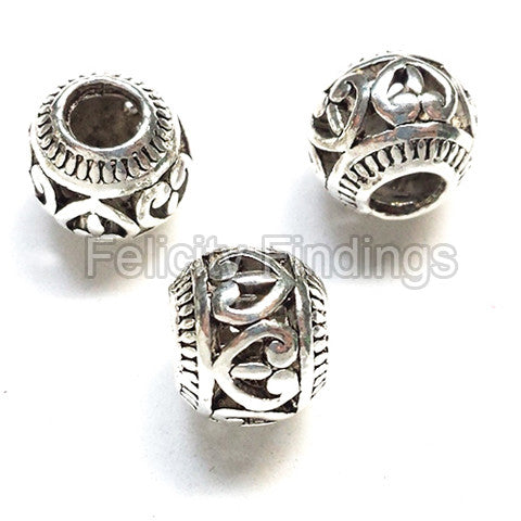 Metal beads - SPB 518S (Hollow cut)