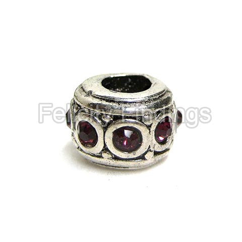 Metal beads - SPB 510S (Purple)