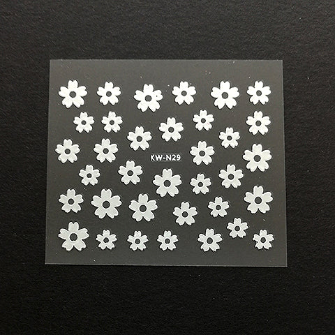 Stickers (Silver flower)