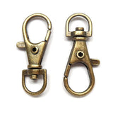 Swivel clasp (Bronze) - 38mm
