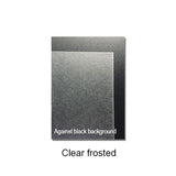 Shrink plastic (Clear) - Frosted