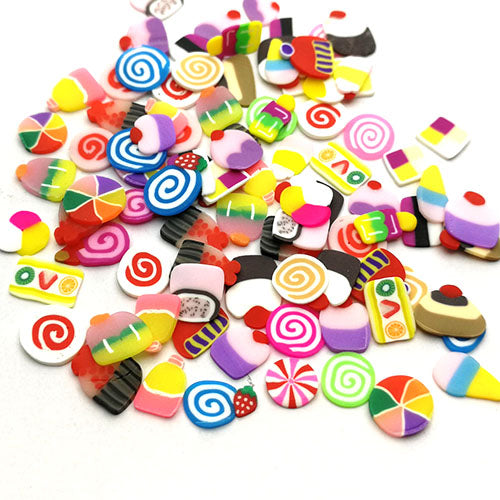 Polymer clay slices (Small) - Confections