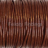 Korean Waxed Polyester Cord - 2mm