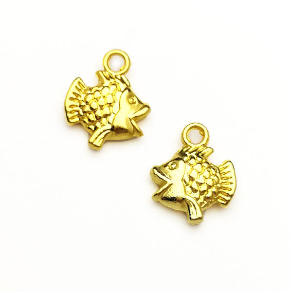 Charms (Gold plated) -  Fish