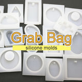 Grab bag - 5pcs Silicone mold