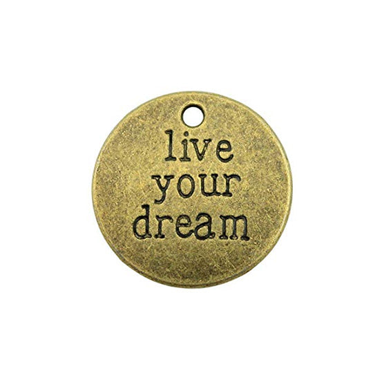 Charms (Bronze) - Live Your Dream