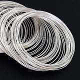 Memory wire (Silver plated) - 55mm