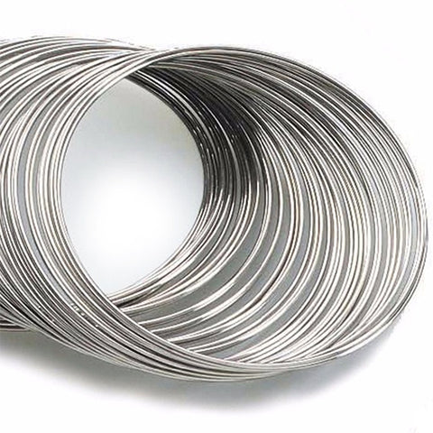 Memory wire (Nickel colour) - 60mm