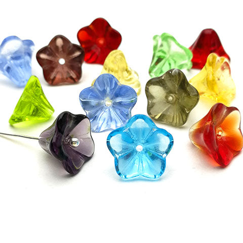 Glass bead bell flower